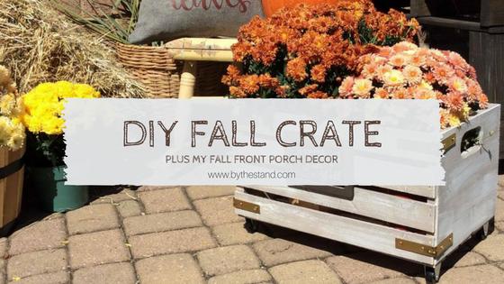 diy fall crate